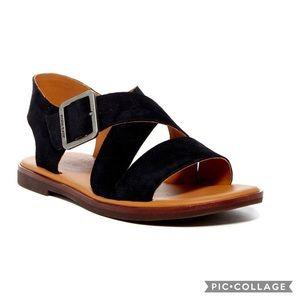Kork Ease Black Suede 'Nara' Sandal 10M